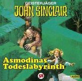 Asmodinas Todeslabyrinth / Geisterjäger John Sinclair Bd.58 (1 Audio-CD)