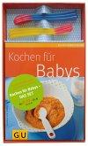 Kochen für Babys (m. 6 Wärmesensor-Löffeln)