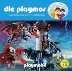 Das Licht aus dem Drachenland / Die Playmos Bd.13 (Audio-CD)