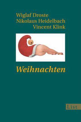... Droste; Nikolaus Heidelbach; Vincent Klink - Taschenbuch - buecher.de