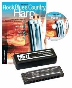 Rock Blues Country Harp Set