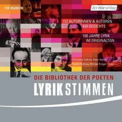 Lyrikstimmen, 9 Audio-CDs - Christiane Collorio, Peter Hamm, Harald Hartung, Michael Krüger