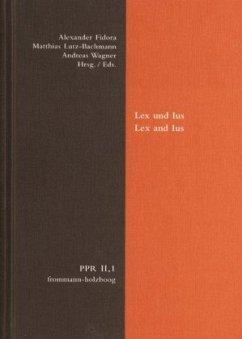 Lex und Ius; Lex and Ius / Politische Philosoph...