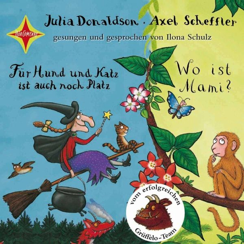 Für Hund und Katz ist auch noch Platz; Wo ist Mami?, 1 Audio-CD - Donaldson, Julia; Scheffler, Axel