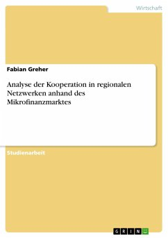 Analyse der Kooperation in regionalen Netzwerke...