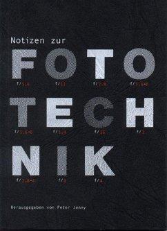Notizen zur Fototechnik