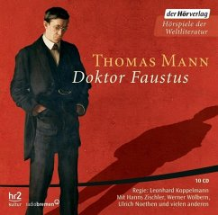 Doktor Faustus, 10 Audio-CDs - Mann, Thomas