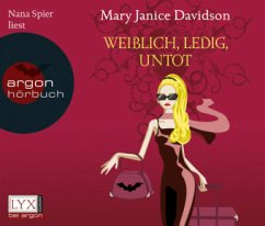 Weiblich, ledig, untot (Band 1), 3 Audio-CDs - Davidson, Mary J.