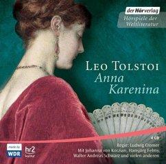 Anna Karenina, 4 Audio-CDs - Tolstoi, Leo N.
