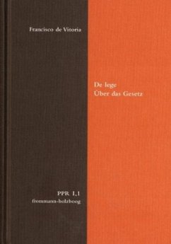 De lege / Über das Gesetz / Politische Philosop...