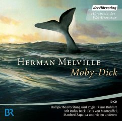 Moby Dick, 10 Audio-CDs - Melville, Herman