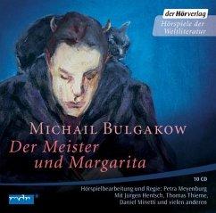 Der Meister und Margarita, 10 Audio-CDs - Bulgakow, Michail