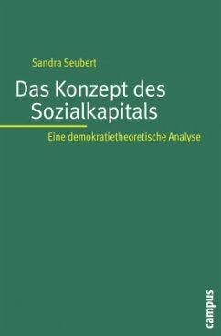 Das Konzept des Sozialkapitals - Seubert, Sandra