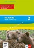 Konetschno! Band 2. Russisch als 2. Fremdsprache. Arbeitsheft mit Audio-CD