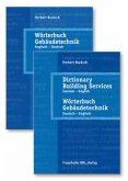Wörterbuch Gebäudetechnik in 2 Bänden. Band 1 Englisch - Deutsch. Band 2. Deutsch-Englisch