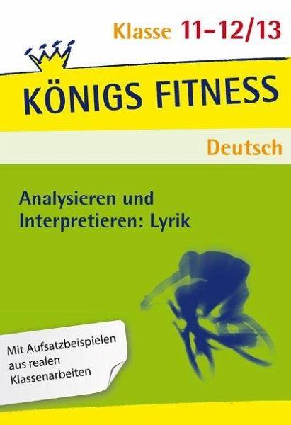 Analysieren Und Interpretieren Lyrik Oberstufe Abitur