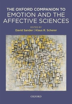 Oxford Companion to Emotion and the Affective Sciences - Sander, David; Scherer, Klaus