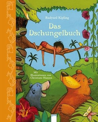 das dschungelbuch mit audio cd von rudyard kipling buch b. Black Bedroom Furniture Sets. Home Design Ideas