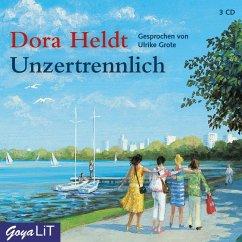 Unzertrennlich, 3 Audio-CDs - Heldt, Dora