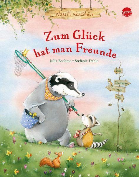Buch-Reihe Wassili Waschbär