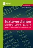 Texte verstehen - Schritt für Schritt, Klasse 5-7