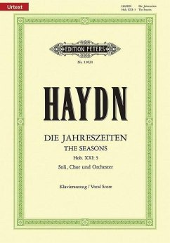 Die Jahreszeiten Hob.XXI:3, Klavierauszug - Haydn, Joseph