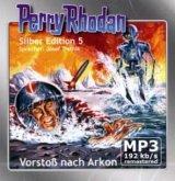 Vorstoß nach Arkon / Perry Rhodan Silberedition Bd.5 (2 MP3-CDs)