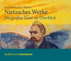 Nietzsches Werke, 2 Audio-CDs - Ries, Wiebrecht