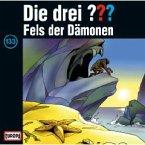 Fels der Dämonen / Die drei Fragezeichen - Hörbuch Bd.133 (1 Audio-CD)
