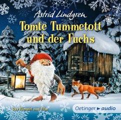 Tomte Tummetott und der Fuchs, Audio-CD - Lindgren, Astrid