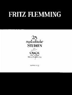 25 melodische Studien, Oboe und Klavier - Flemming, Fritz