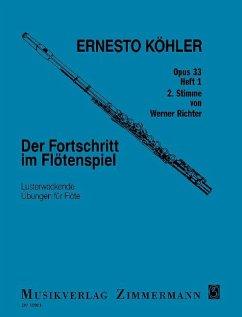 Der Fortschritt im Flötenspiel op. 33 für Flöte solo