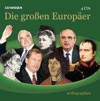 Die großen Europäer, 4 Audio-CDs