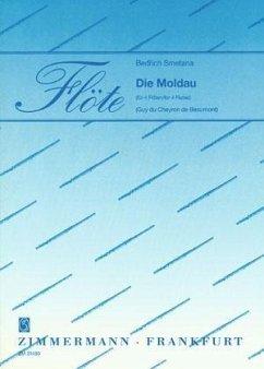 Die Moldau für 4 Flöten