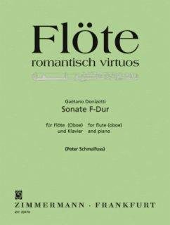 Sonate F-Dur, Flöte (Oboe) und Klavier - Donizetti, Gaetano