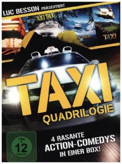 Taxi Qu4drilogie (4 DVDs, Special Edition)