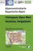 Alpenvereinskarte Chiemgauer Alpen West, Hochries, Geigelstein