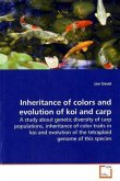 Inheritance of colors and evolution of koi and carp