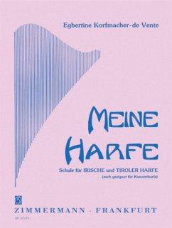Meine Harfe - Korfmacher-de Vente, Egbertine