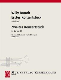 Erstes Konzertstück f-Moll, Zweites Konzertstück Es-Dur - Brandt, Willy