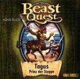 Tagus, Prinz der Steppe / Beast Quest Bd.4 (1 Audio-CD)