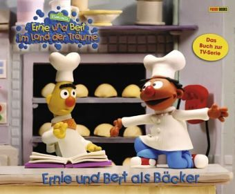ernie und bert als b cker ernie und bert im land der. Black Bedroom Furniture Sets. Home Design Ideas