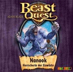 Nanook, Herrscherin der Eiswüste / Beast Quest Bd.5 (Audio-CD) - Blade, Adam