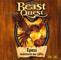 Eposs, Gebieterin der Lüfte / Beast Quest Bd.6 (Audio-CD) - Blade, Adam