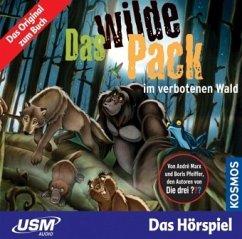 Das wilde Pack im verbotenen Wald / Das wilde Pack Bd.6 (Audio-CD)