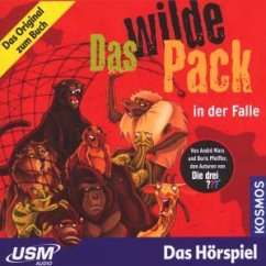 Das wilde Pack in der Falle / Das wilde Pack Bd.5 (Audio-CD)