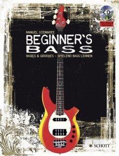 Beginner's Bass, m. Audio-CD - Steinhoff, Manuel