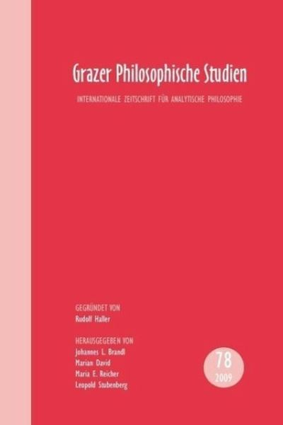 Grazer Philosophische Studien Essay