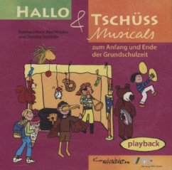 Hallo & Tschüss Musicals, Playback, 1 Audio-CD