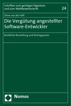 Die Vergütung angestellter Software-Entwickler - Hoff, Oliver van der